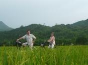Balade a vélo dans la vallée de Mai Chau