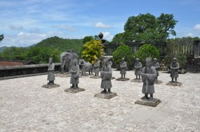 Mausolee des Empereurs à Hue