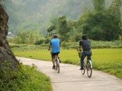 Balade à vélo à Tam Coc