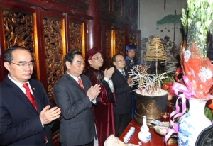 La Fête du culte des rois Hùng célébrée partout