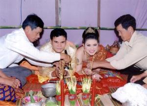 le mariage khmer