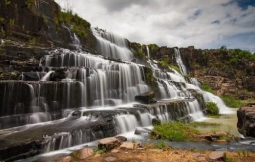La chute d'eau de Pongour