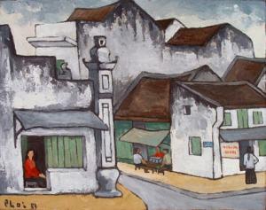 la-rue-de-hanoi-en-peinture
