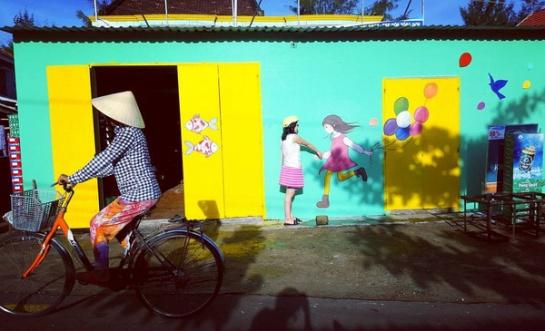 Toujours selon ces artistes, ils espèrent que les fruits de leur création puissent embellir le village, créant en quelque sorte un coup de pouce à l'essor touristique tout en améliorant l'esprit de responsabilité et aussi de fierté des habitants à l'égard de leur pays.