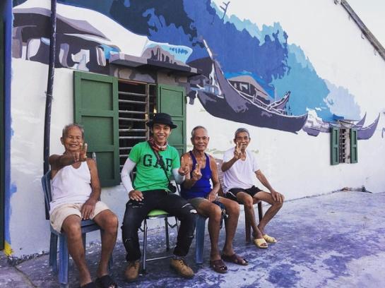 Les murs attrayants ont de pair avec les sourires des gens ici, toujours ouverts et gentils