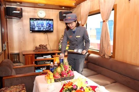 vietnam train luxe
