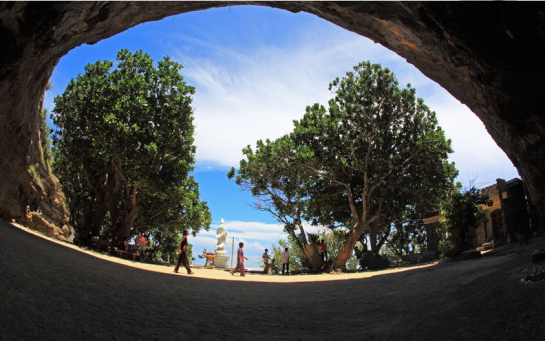 pagode grotte