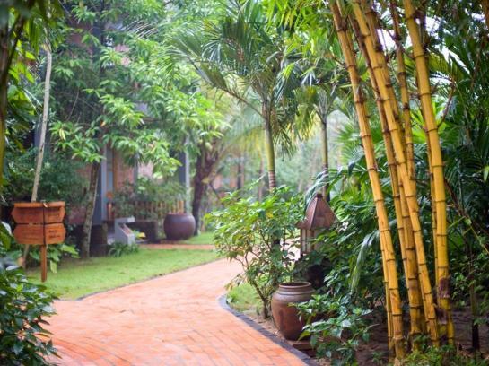 Pilgrimage Village paradis tropical