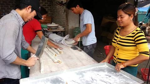 fabrication de bonbons