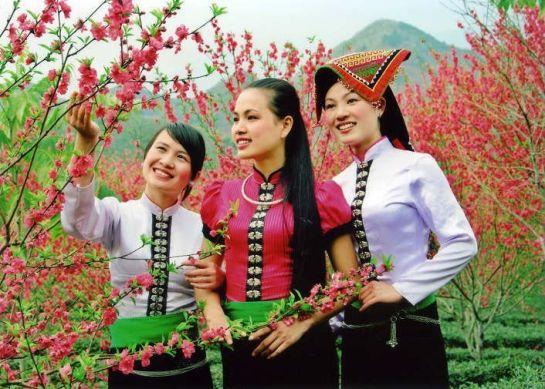 femmes de thai yen bai
