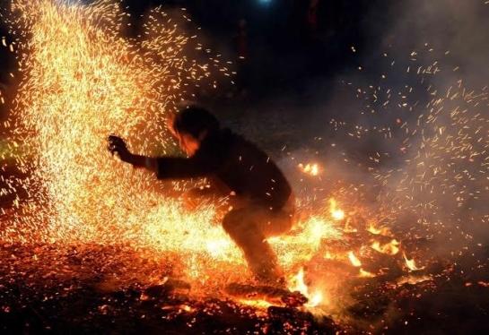 ha giang fete du saut feu