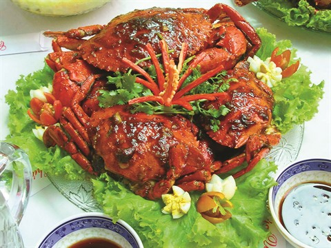crabes au sel